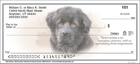 Best Breeds - Newfoundland Personal Checks
