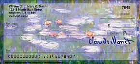 Monet: Nature Personal Checks