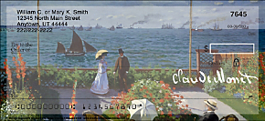 Monet: Seascapes Personal Checks