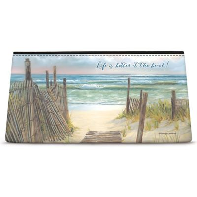 A Walk on the Beach Cosmetic Bag
