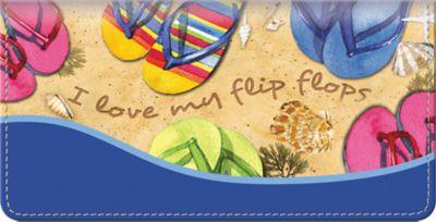 Flip Flops Checkbook Cover