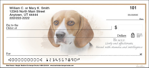Best Breeds Beagle Personal Checks