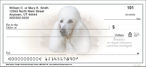 Poodle Best Breeds Personal Checks
