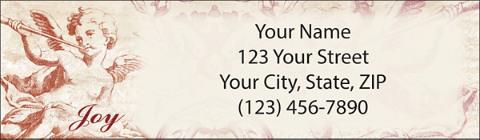 Cherubs Return Address Label