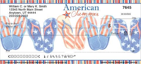 American Summer Personal Checks