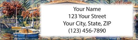 Boating Return Address Label