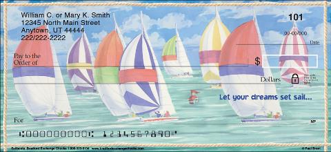 Sailboats Personal Checks
