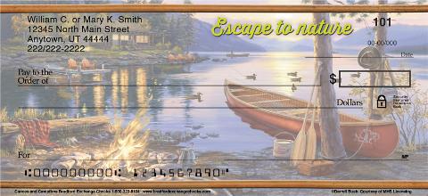Canoes & Campfires Personal Checks