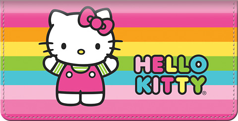 Hello Kitty Colors Checkbook Cover