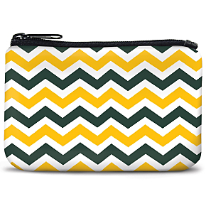 Green and Gold Chevron Coin Purse (1801110080) photo