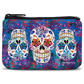Day of the Dead Coin Purse