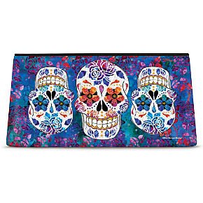 Day of the Dead Cosmetic Bag