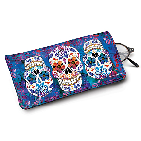 Day of the Dead Eyeglass Case