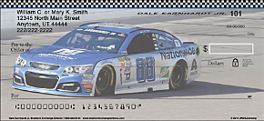 Dale Earnhardt Jr. Personal Check Designs
