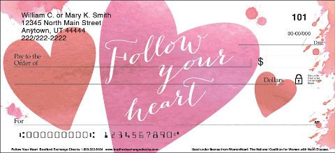 Follow Your Heart Checks