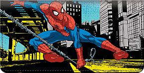Spider-Man Checkbook Cover