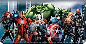 Avengers Checkbook Cover