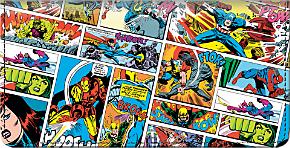 Avengers Comics Checkbook Cover
