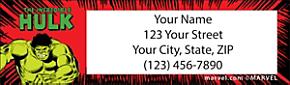 Avengers Comics Return Address Label