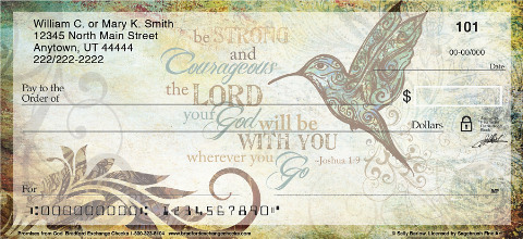 Promises from God Personal Checks