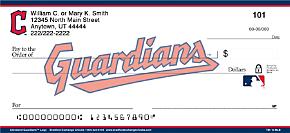 MLB(R) Cleveland Indians(TM) Logo Personal Checks