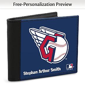 Cleveland Indians(TM) MLB(R) Logo Men's  RFID  Wallet