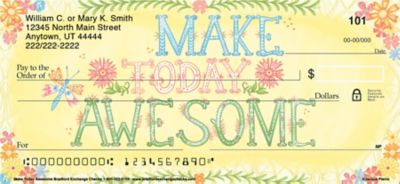 Make Today Awesome Personal Checks