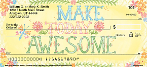 Make Today Awesome Personal Checks