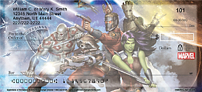 Guardians of the Galaxy Personal Checks