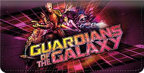 Guardians of the Galaxy Checkbook Cover