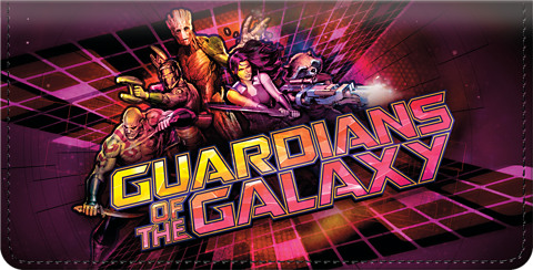 Guardians of the Galaxy Checkbook Cover 1801249010