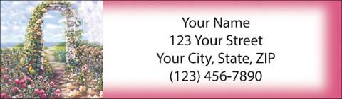 Garden Party Return Address Label