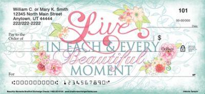 Beautiful Moments Personal Checks