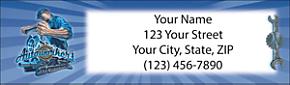 Autoworker Return Address Label