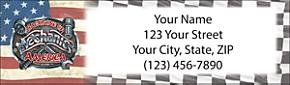 Mechanic Address Label