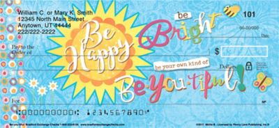Be•you•tiful Personal Checks