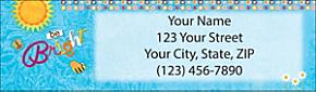 Be?you?tiful Return Address Label