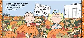 Peanuts® It's the Great Pumpkin Personal Checks