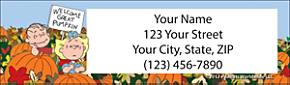 Peanuts® It's the Great Pumpkin Address Labels