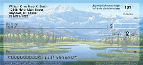 Mountains Personal Checks