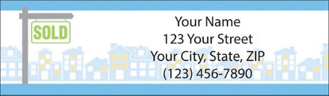 Real Estate Address Labels
