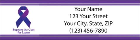 Cure Lupus Return Address Label
