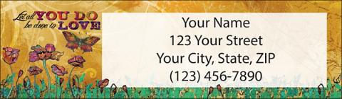 Live & Love Return Address Label