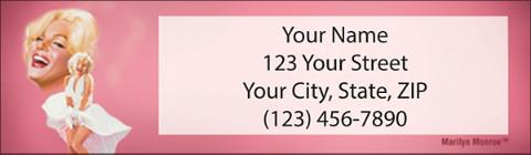 Marilyn Monroe(TM) Address Labels