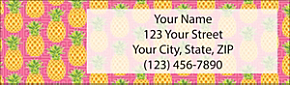 Pineapples Address Label
