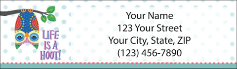 Owl You Need is Love Address Labels