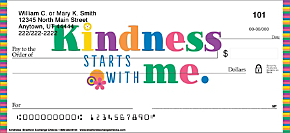 Kindness Personal Checks