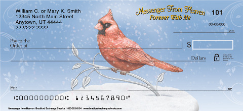 Messenger From Heaven Personal Checks