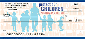 Protect Our Children Personal Checks