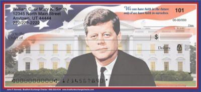 John F. Kennedy Personal Checks